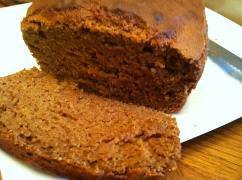 Whole Wheat QuickBread with Molasses
